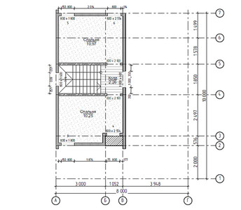 План 1 и 2 этажа