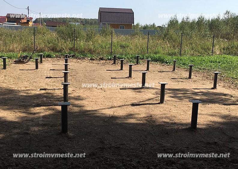 Стоимость работ монолитный фундамент в Химках