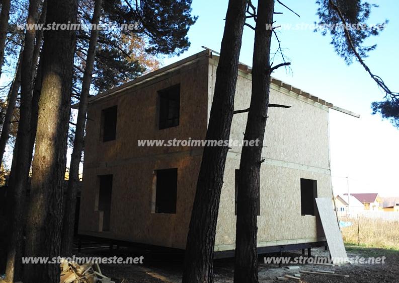 Заливка фундамента дома Люберецкий район