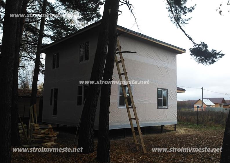 Гидроизоляция фундамента цена за работу в Подольске